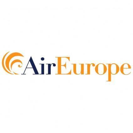 free vector Air europe