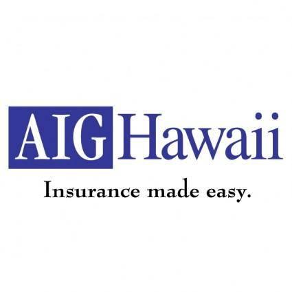 free vector Aig hawaii