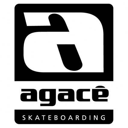 free vector Agace skateboarding 1