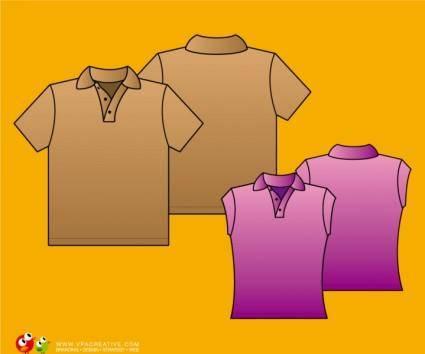 free vector Simple Polo shirt