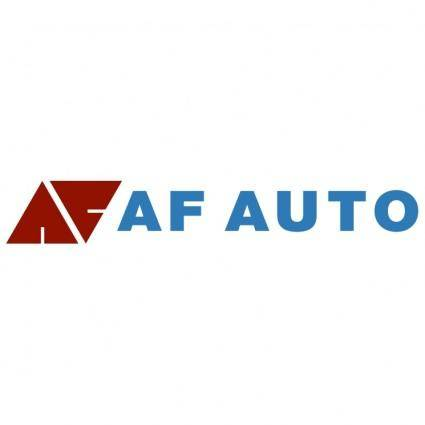 free vector Af auto