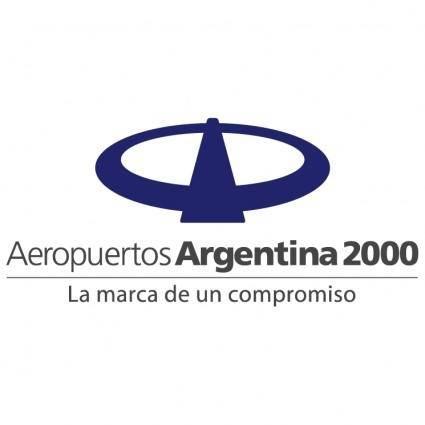 Aeropuertos argentina 2000 0