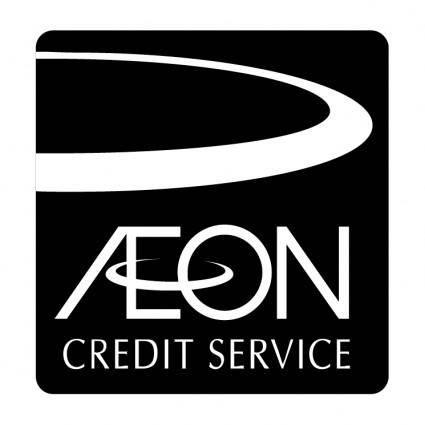 free vector Aeon credit service