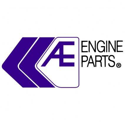 free vector Ae engine parts