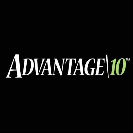 free vector Advantage 10