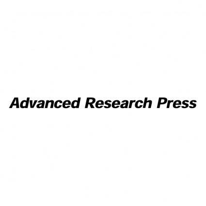 free vector Advanced research press