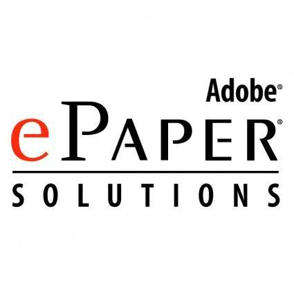 free vector Adobe epaper solutions
