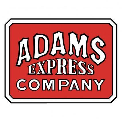 Adams express company 0