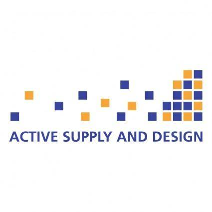 free vector Active supply and design