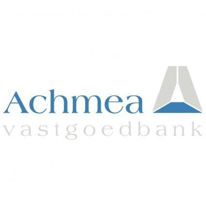 free vector Achmea vastgoedbank