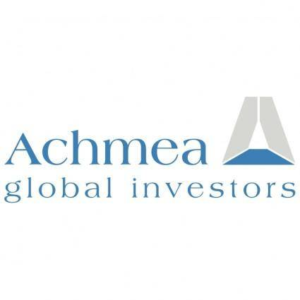 free vector Achmea global investors