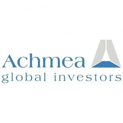 free vector Achmea global investors