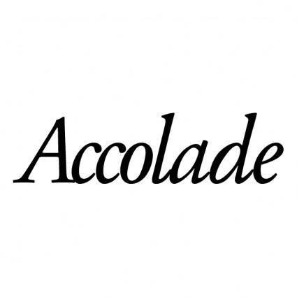 free vector Accolade