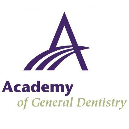 free vector Academy of general dentistry