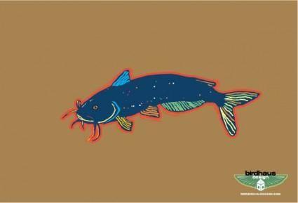 free vector Catfish