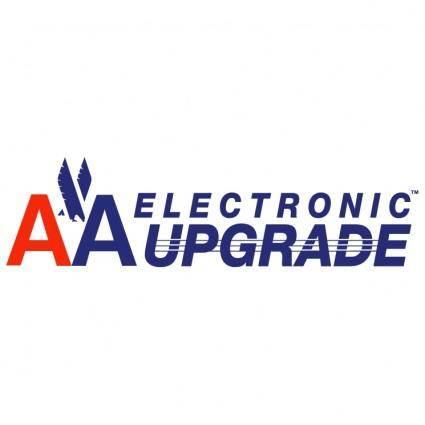free vector Aa electronic upgrade
