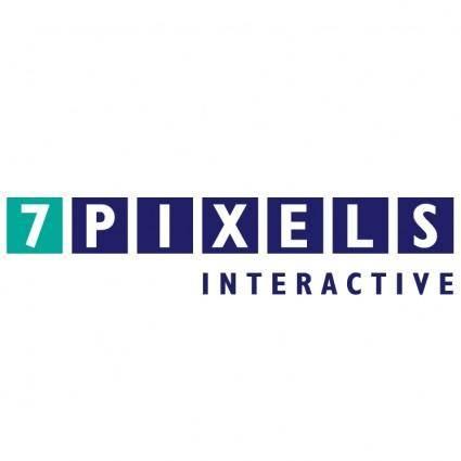 free vector 7 pixels interactive