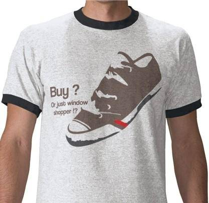 Shoe Funny T Shirt Vector