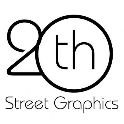 free vector 20th street graphics