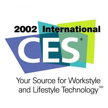free vector 2002 international consumer electronics show