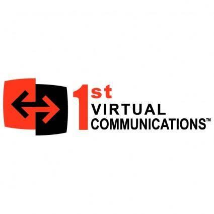 free vector 1st virtual communications