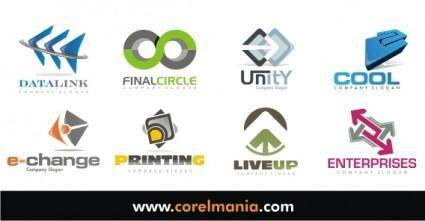 free vector Free logo design, free logo company, free logo business
