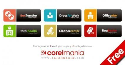 Free logo vector, free logo company, free logo business