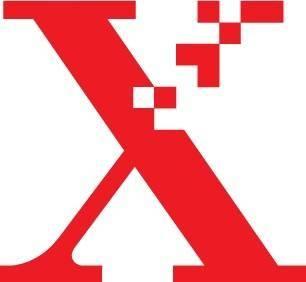 free vector Xerox X logo