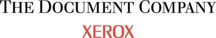 free vector Xerox logo
