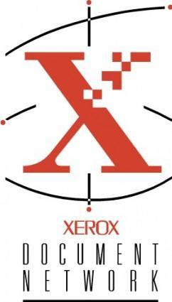 free vector Xerox Document Network