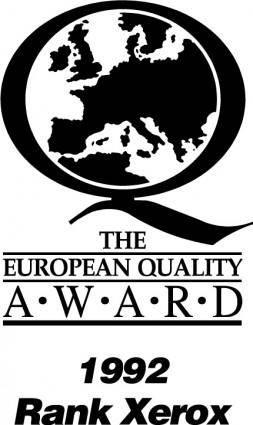 free vector Xerox 1992 award