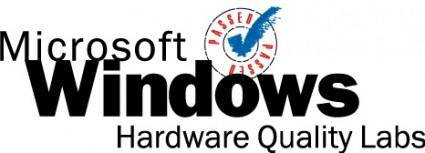 free vector Windows Hardware Quality