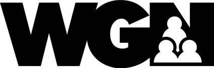 free vector WGN logo