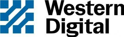 free vector Western Digital logo