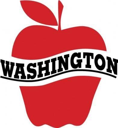 free vector Washington Apples Comission