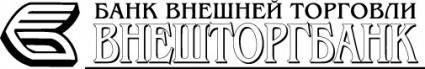 free vector Vneshtorgbank logo