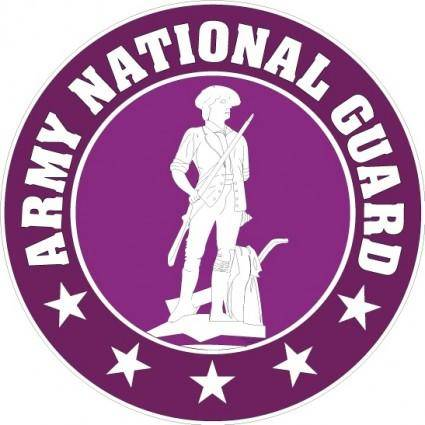 free vector US army national guard logo