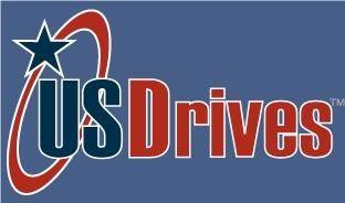 free vector USDrives logo