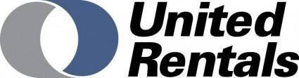 free vector United Rentals logo