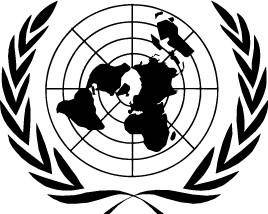 free vector United Nations logo