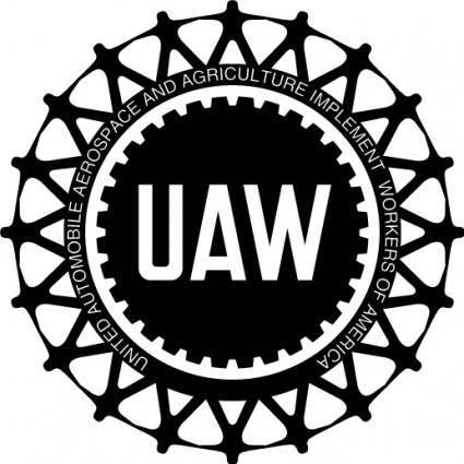 free vector UAW logo