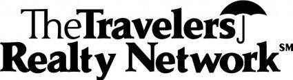 free vector Travelers Network logo