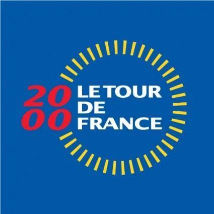 Tour de France 2000 logo
