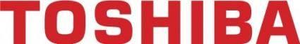 free vector Toshiba logo
