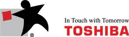 free vector Toshiba In Touch logo