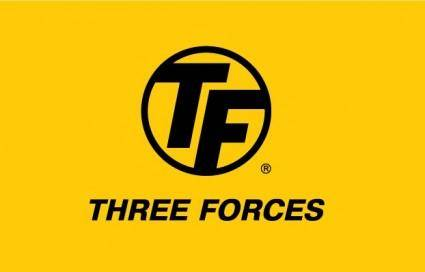 Three Forces logo