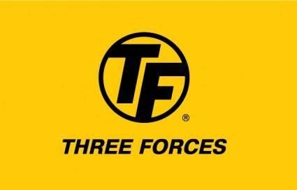 Three Forces logo