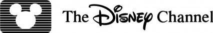 free vector The Disney channel logo
