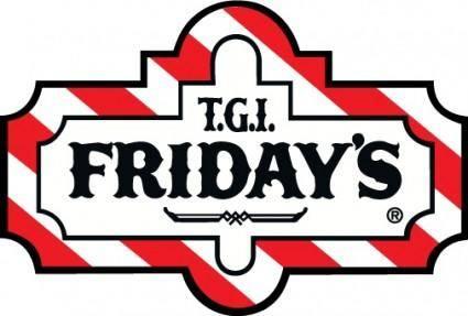 free vector TGI Fridays logo