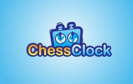 free vector Chess Clock Logo